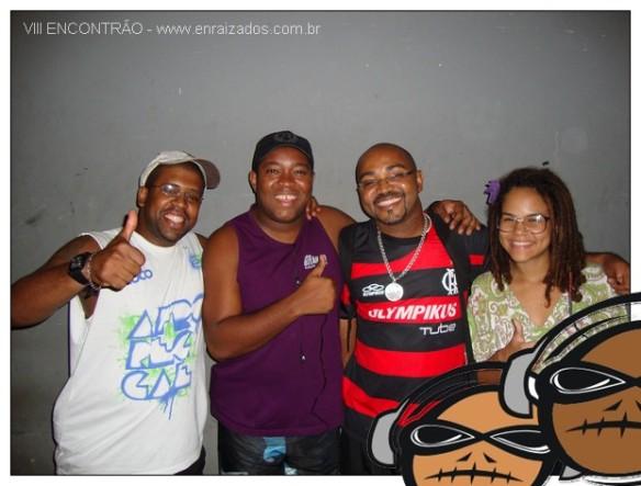 Anderson, LG, Dudu de Morro Agudo e Cobrinha